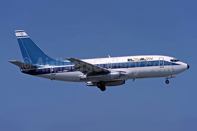 El Al Israel Airlines Boeing 737-258 4X-ABO (msn 22857) ATH (Richard Vandervord). Image: 949085.
