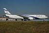 El Al Israel Airlines Boeing 767-3Y0 ER 4X-EAP (msn 24953) FRA (Bernhard Ross). Image: 902660.