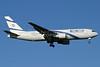 El Al Israel Airlines Boeing 767-27E ER 4X-EAF (msn 24854) LHR (Antony J. Best). Image: 902658.
