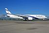 El Al Israel Airlines Boeing 777-258 ER 4X-ECE (msn 36083) LHR. Image: 925402.