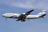 El Al Israel Airlines Boeing 747-458 4X-ELA (msn 26055) BKK (Michael B. Ing). Image: 935922.