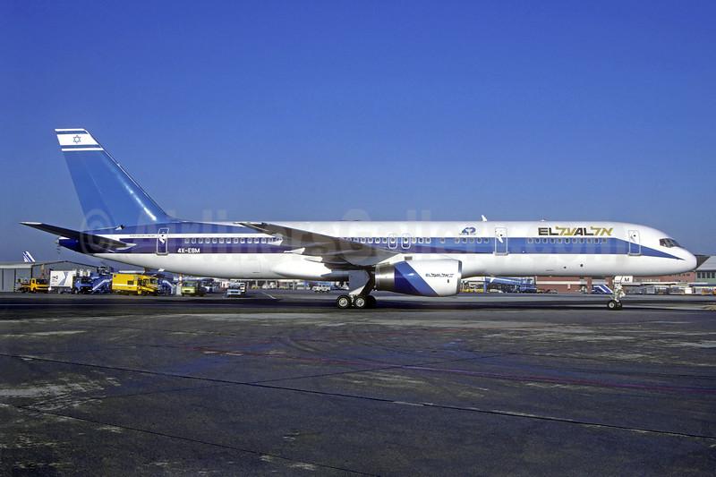 El Al Israel Airlines Boeing 757-258 4X-EBM (msn 23918) MUC (Christian Volpati Collection). Image: 940100.