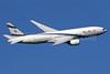 El Al Israel Airlines Boeing 777-258 ER 4X-ECB (msn 30832) LHR (SPA). Image: 930027.