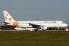 Israir Airlines (LatCharter) Airbus A320-211 4X-ABD (msn 384) STN (Antony J. Best). Image: 900096.