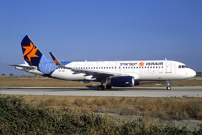 Israir Airlines Airbus A320-232 WL 4X-ABI (msn 7110) RHO (Christian Volpati Collection). Image: 937901.