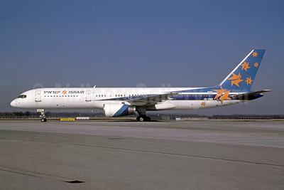 Israir (El Al) Boeing 757-258 4X-EBM (msn 23918) (El Al colors) MUC (Frank Potsch - Bruce Drum Collection). Image: 952098.