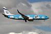Up by El Al (El Al Israel Airlines) Boeing 737-86Q WL 4X-EKO (msn 30287) GVA (Paul Denton). Image: 922427.