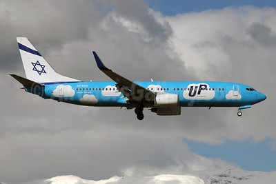Up brand retired by El Al on October 14, 2018