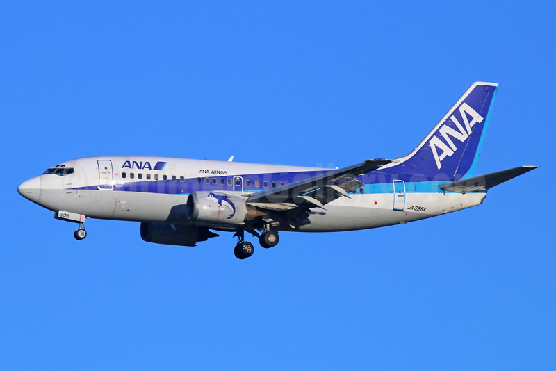 ANA (All Nippon Airways)-ANA Wings Boeing 737-5L9 JA356K (msn 28083) NRT (Michael B. Ing). Image: 934243.