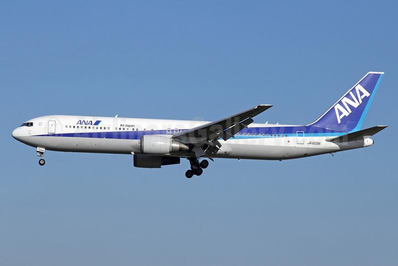 ANA (All Nippon Airways)-Air Japan Boeing 767-381 ER JA609A (msn 32978) NRT (Michael B. Ing). Image: 901344.