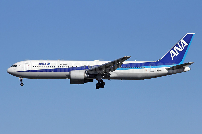 ANA (All Nippon Airways)-Air Japan Boeing 767-381 ER JA617A (msn 37719) NRT (Michael B. Ing). Image: 910480.