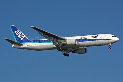 ANA (All Nippon Airways)-Air Japan Boeing 767-381 ER JA616A (msn 35876) SIN (Michael B. Ing). Image: 900929.