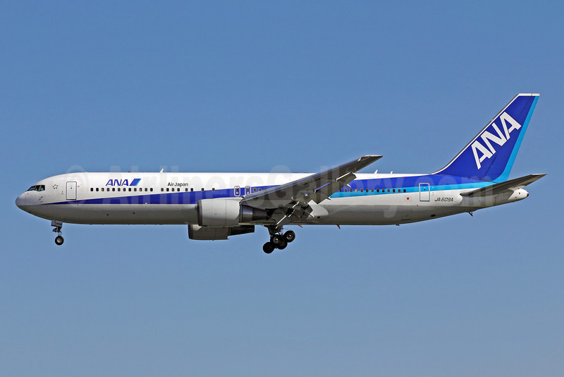 ANA (All Nippon Airways)-Air Japan Boeing 767-381 ER JA609A (msn 32978) PEK (Michael B. Ing). Image: 910478.