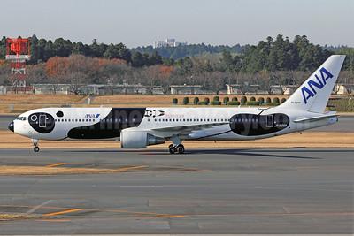ANA (All Nippon Airways)-Air Japan Boeing 767-381 ER WL JA606A (msn 32975) (Fly! Panda) NRT (Michael B. Ing). Image: 905921.
