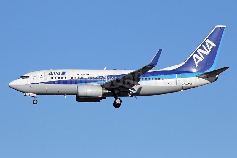 ANA (All Nippon Airways) (Air Nippon) Boeing 737-781 WL JA03AN (msn 33873) NRT (Michael B. Ing). Image: 920162.