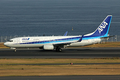 ANA (All Nippon Airways) (Air Nippon) Boeing 737-881 WL JA54AN (msn 33890) HND (Michael B. Ing). Image: 922703.