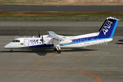 ANA (All Nippon Airways) (Air Nippon) Bombardier DHC-8-314 (Q300) JA801K (msn 565) HND (Michael B. Ing). Image: 901334.