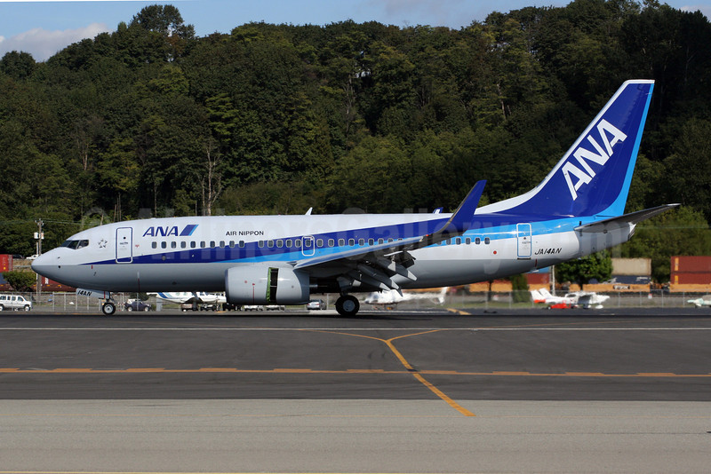 ANA (All Nippon Airways) (Air Nippon) Boeing 737-781 WL JA14AN (msn 33883) BFI (Nick Dean). Image: 905157.