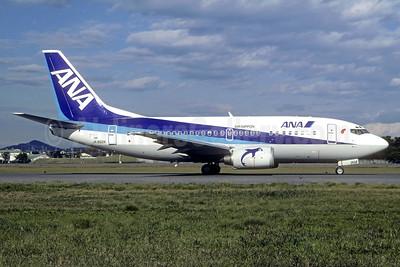 ANA (All Nippon Airways) (Air Nippon) Boeing 737-54K JA302K (msn 28990) NGO (Christian Volpati Collection). Image: 937894.