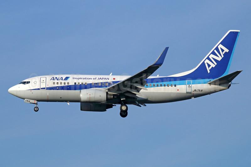 ANA (All Nippon Airways) Boeing 737-781 WL JA17AN (msn 33884) (Inspiration of Japan) NRT (Michael B. Ing). Image: 934236.