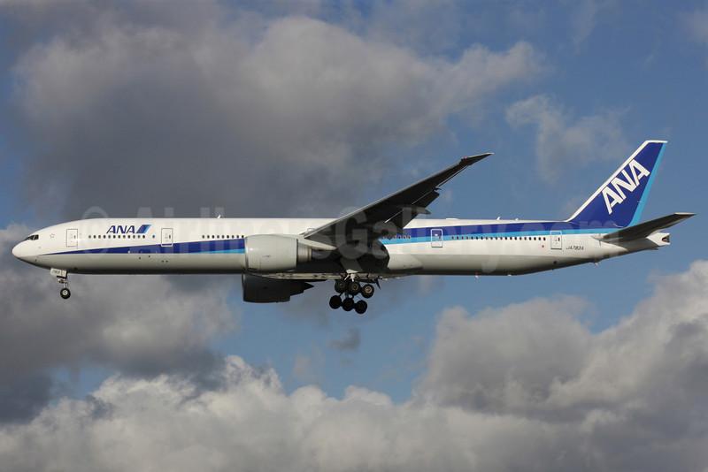 ANA (All Nippon Airways) Boeing 777-381 ER JA783A (msn 27940) LHR (Antony J. Best). Image: 901342.