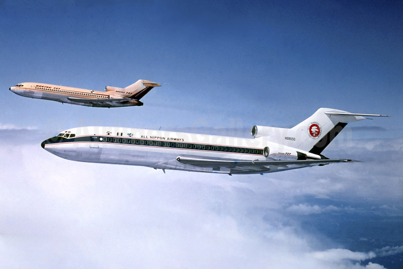 Delivered to ANA on April 30, 1964, later crashed with Piedmont on February 25, 1967