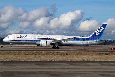 ANA (All Nippon Airways) Boeing 787-9 Dreamliner JA837A (msn 34526) (Inspiration of Japan) SEA (Michael B. Ing). Image: 937028.