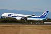 """ANA (All Nippon Airways) Boeing 787-8 Dreamliner JA813A (msn 34521) """"787"""" PAE (Nick Dean). Image: 909225."""
