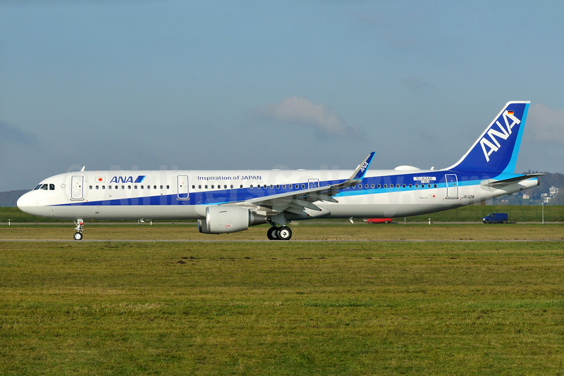 The second new Airbus A321 for ANA