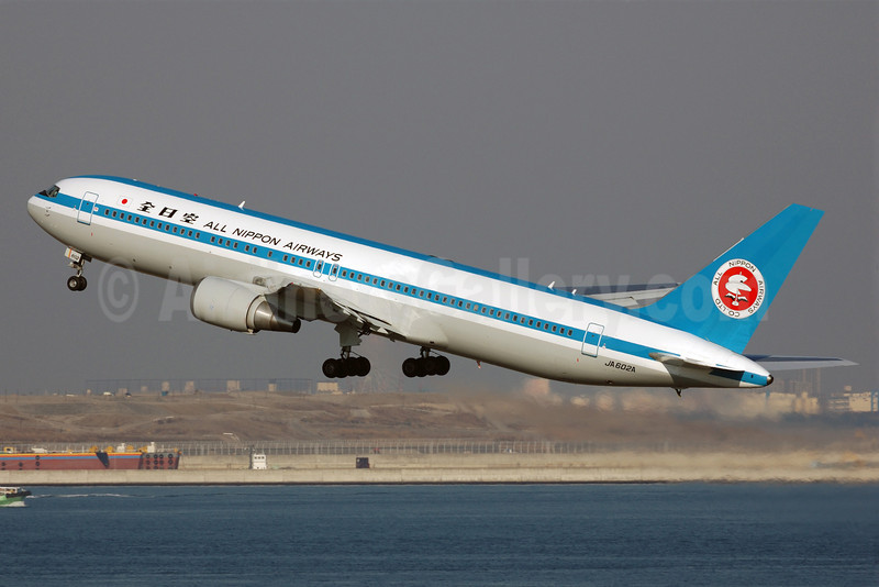 All Nippon Airways (ANA) Boeing 767-381 JA602A (msn 27944) (1969 retrojet) HND (Akira Uekawa). Image: 906485.