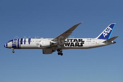 ANA (All Nippon Airways) Boeing 787-9 Dreamliner JA873A (msn 34530) LAX (Ron Monroe). Image: 943954.