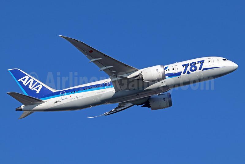 ANA (All Nippon Airways) Boeing 787-8 Dreamliner JA815A (msn 40899) NRT (Michael B. Ing). Image: 935614.