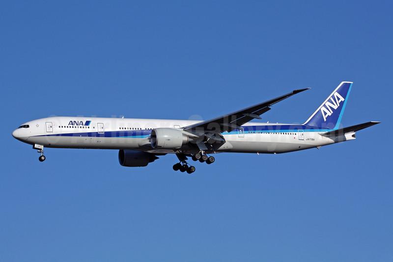ANA (All Nippon Airways) Boeing 777-381 ER JA778A (msn 32651) NRT (Michael B. Ing). Image: 901340.