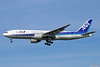 ANA (All Nippon Airways) Boeing 777-281 ER JA708A (msn 28277) (Inspiration of Japan) NRT (Michael B. Ing). Image: 934586.