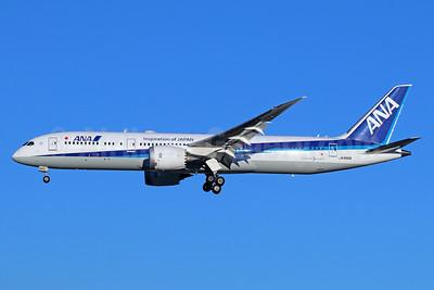 ANA (All Nippon Airways) Boeing 787-9 Dreamliner JA880A (msn 34533) (Inspiration of Japan) NRT (Michael B. Ing). Image: 943956.