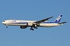 ANA (All Nippon Airways) Boeing 777-381 JA752A (man 28274) (Inspiration of Japan) HND (Akira Uekawa). Image: 920914.