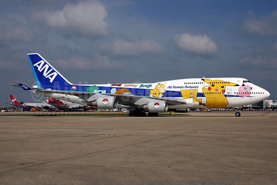 "ANA' 1999 ""Pokemon - Pocket Monsters"" special livery"