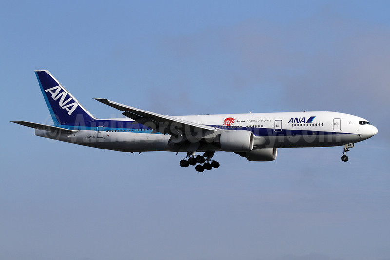 ANA (All Nippon Airways) Boeing 777-281 ER JA715A (msn 32646) (Japan. Endless Discovery) LAX (James Helbock). Image: 906926.
