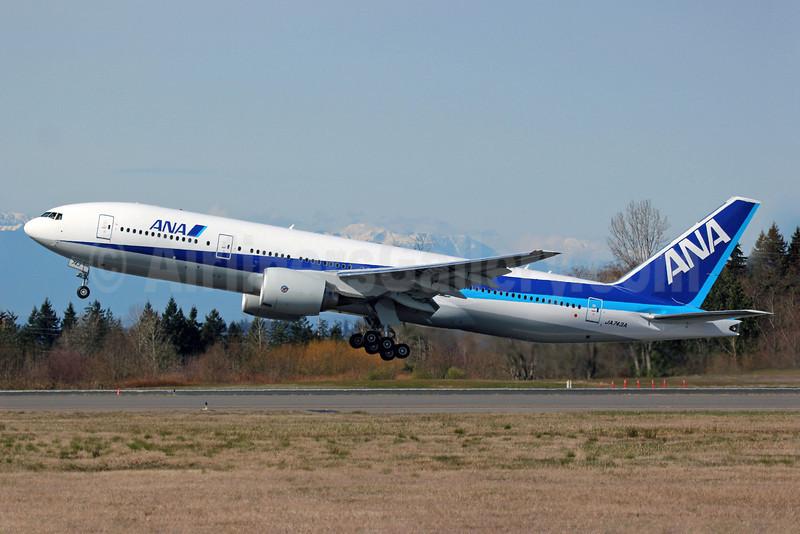 ANA (All Nippon Airways) Boeing 777-281 ER JA743A (msn 40902) PAE (Nick Dean). Image: 913129.