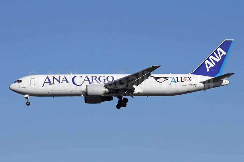 ANA Cargo-ALLEX-Air Japan Boeing 767-381 ER (F) JA8286 (msn 24400) NRT (Michael B. Ing). Image: 909304.