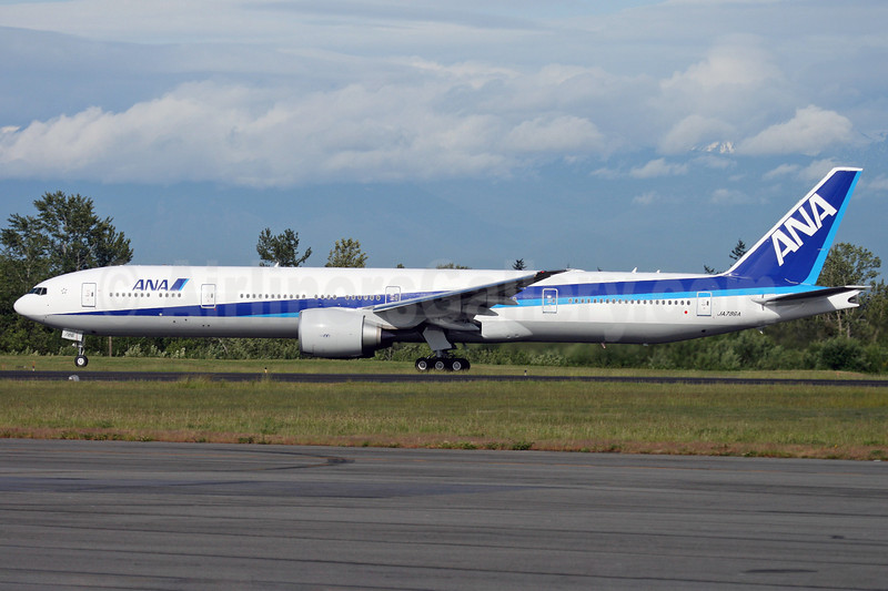 ANA (All Nippon Airways) Boeing 777-381 ER JA786A (msn 37948) PAE (Nick Dean). Image: 904985.