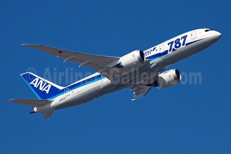 "ANA (All Nippon Airways) Boeing 787-8 Dreamliner JA805A (msn 34514) ""787"" FRA (Ole Simon). Image: 908126."