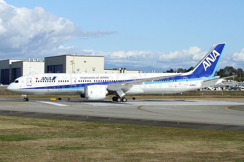 ANA (All Nippon Airways) Boeing 787-9 Dreamliner JA884A (msn 34523) (Inspiration of Japan) PAE (Nick Dean). Image: 934808.