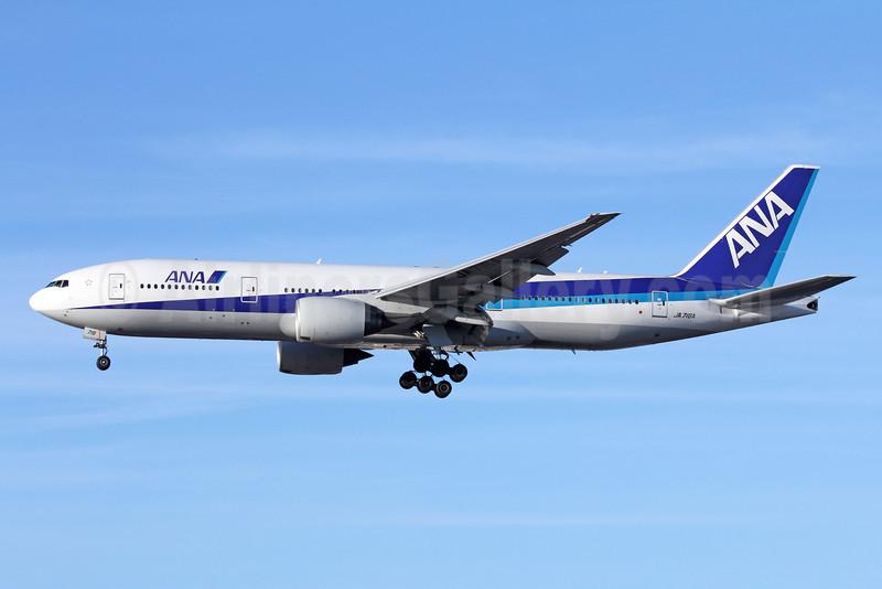 ANA (All Nippon Airways) Boeing 777-281 ER JA716A (msn 33414) LAX (Michael B. Ing). Image: 909303.