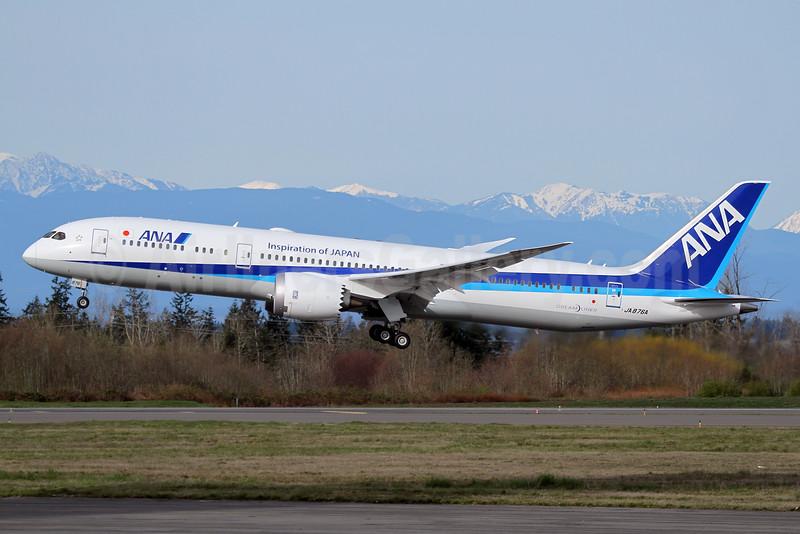 ANA's 10th Boeing 787-9 Dreamliner