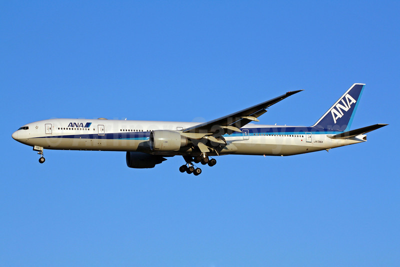 ANA (All Nippon Airways) Boeing 777-381 ER JA736A (msn 34893) NRT (Michael B. Ing). Image: 904892.