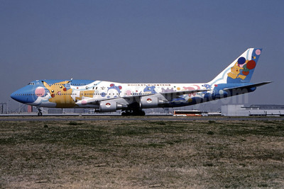 "ANA's 1999 ""Pocket Monsters"" special livery"