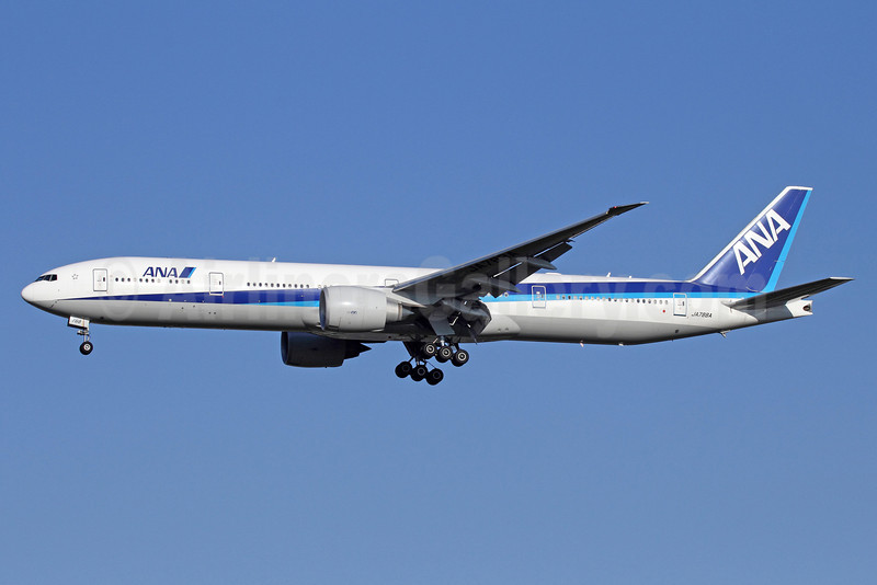 ANA (All Nippon Airways) Boeing 777-381 ER JA788A (msn 40686) NRT (Michael B. Ing). Image: 912573.
