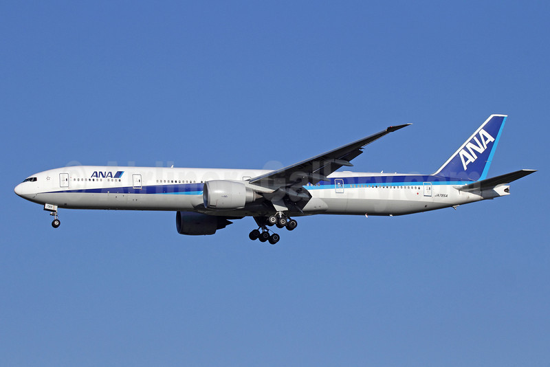 ANA (All Nippon Airways) Boeing 777-381 ER JA785A (msn 37951) NRT (Michael B. Ing). Image: 912572.