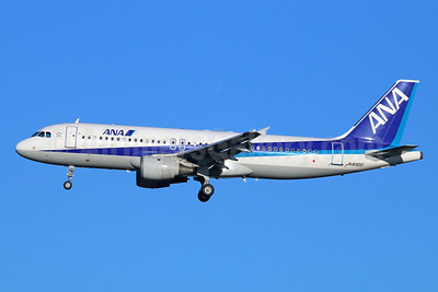 ANA (All Nippon Airways) Airbus A320-211 JA8300 (msn 549) NRT (Michael B. Ing). Image: 922514.